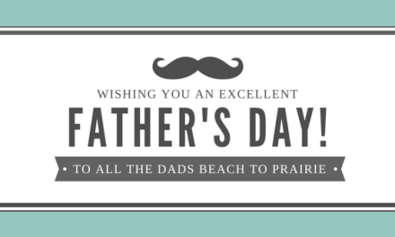 Happy Father's Day – Happy Summer!