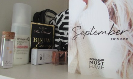PopSugar Must Have Box September 2015