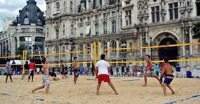 Situatia voleiului de plaja in Romania