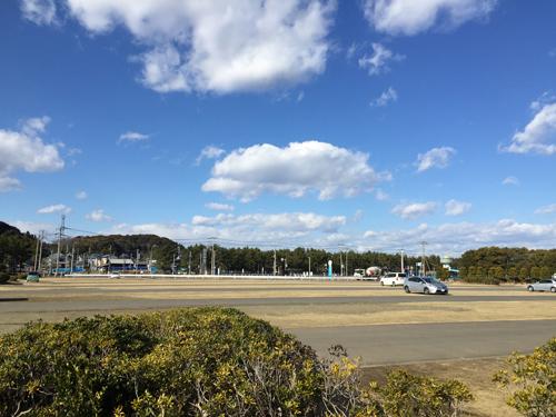 大洗海浜公園駐車場
