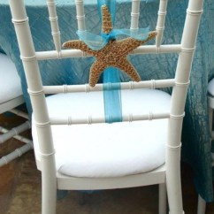 Starfish Wedding Chair Decorations Portable Styling Beach – Tips