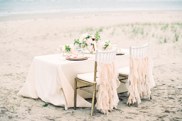 chair covers by ruth bedroom gray stunning wedding shoot inspired the soft colors of a summer sunset – beach tips