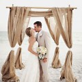 Burlap beach wedding ideas beach wedding tips