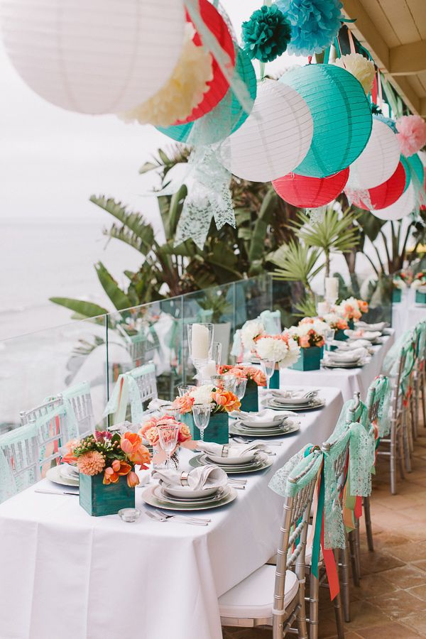 starfish wedding chair decorations red blue how to organize a beach-themed bridal shower – beach tips