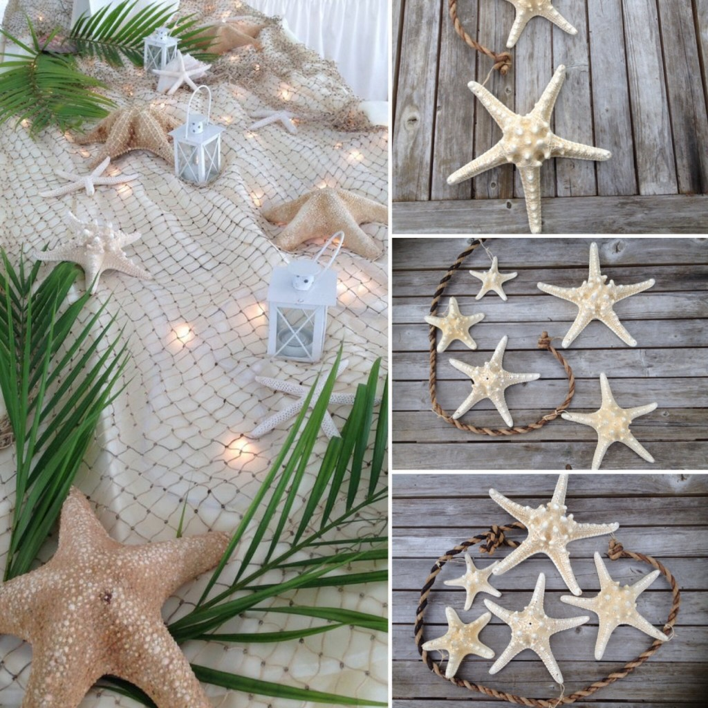 starfish wedding chair decorations inflatable stool best beach accents in the spotlight