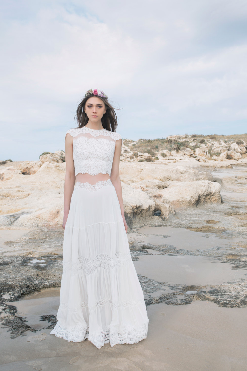 TwoPiece Wedding Dresses for the NonTraditional Bride