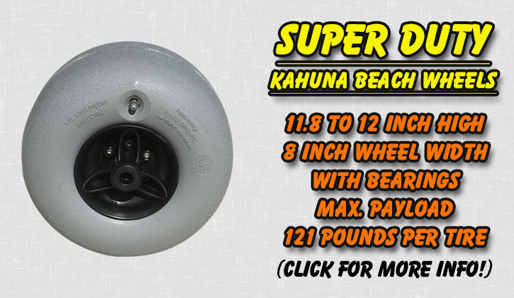 Beach Wheels Balloon Sand Tires  Parts