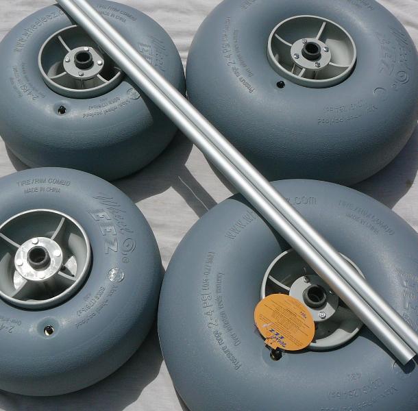 beach chairs on wheels desk chair kids diy mobile all-terrain kit (drilling required) by wheeleez® – beachwheels australia