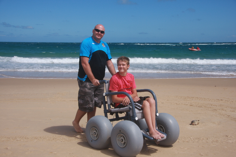 Beachwheels Australia  making life on the beach much easier