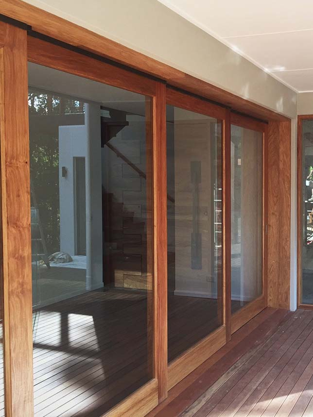 Sliding Timber Doors Beachwood Doors And Joinery