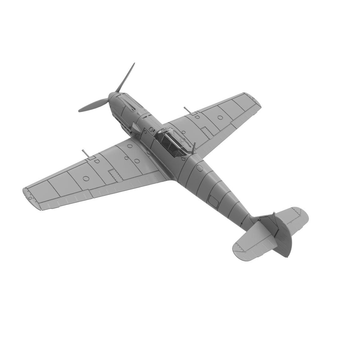 Bf109E Model Rear Quarter