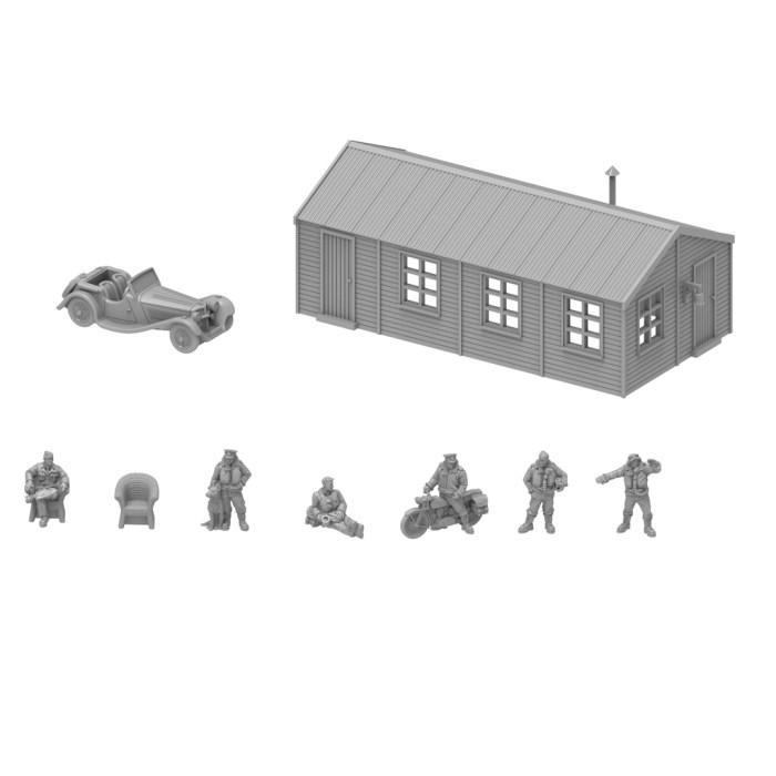 RAF Dispersal Hut Set