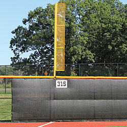 Baseball Foul Poles  Foul Pole Kit