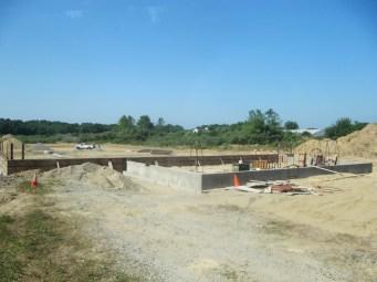 July 22, 2011 Foundation walls.