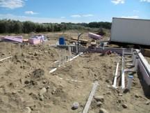 August 22, 2011 Plumbing for bathrooms