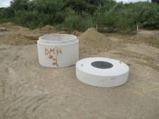 August 25, 2011 Drain basins.