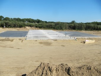 August 26, 2011 Foundation poured!