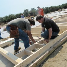 September 3, 2011 Building that wall–Frank & Luke.