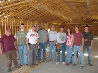 10/11/11 Crew: Quinton Ames, Caleb & Joel Nason, Jeremy Smith, Pastor Bill, Bob Smith, Terry, Tammy, Brian & Brannon Miller