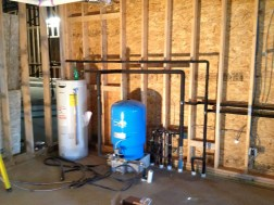 3/5/12 Hot water heater and pressure tank.