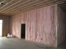 3/9/12 View of nursery insulation from door of auditorium