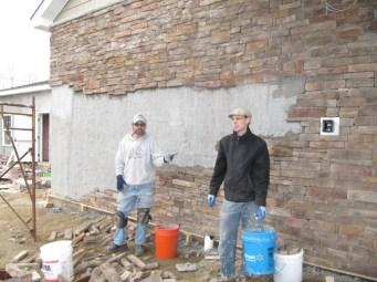 3/13/12 Chris & Matt getting it done!