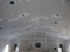 3/26/12 Front of auditorium and ceiling