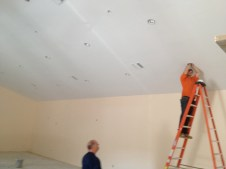 4/16/12 Electricians installing lights