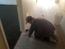 4/28/12 Brian Miller laying tile