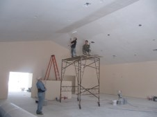 4/10/12 Ray, Matt, & John working on the second coat