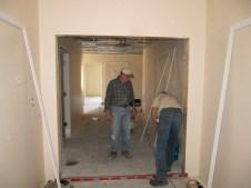 4/17/12 Gordon Johnston & Tommy Goodfellow hanging a door
