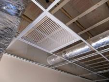 4/17/12 return vent in Sunday School hallway