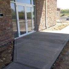 5/12/12 Entry way sidewalks