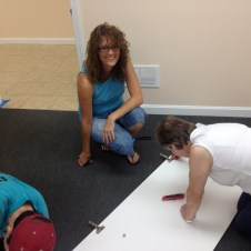 7/10/12 Devan helping Tammy & Sue