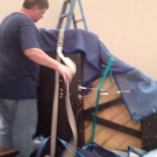 7/11/12 Unwrapping the piano