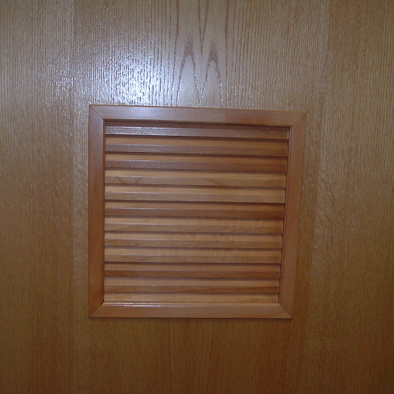 Louver Inserts For 1 38 Or 1 34 Doors
