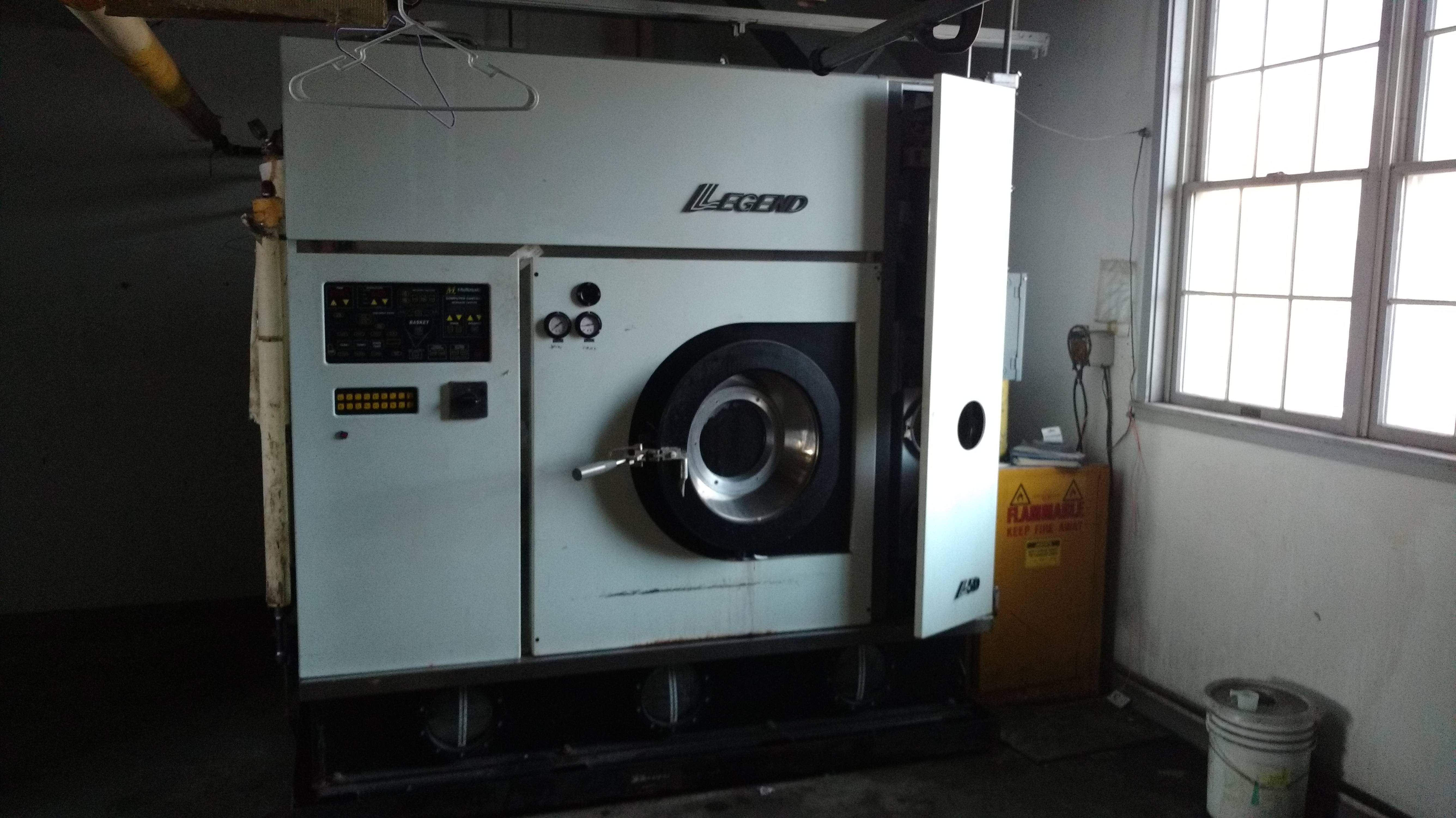 Dry Cleaner Machine