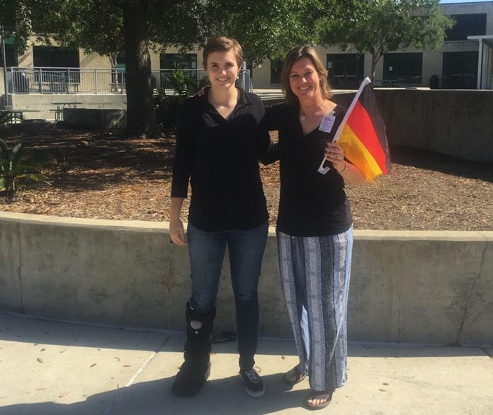 Student's skill earns her a trip to Germany