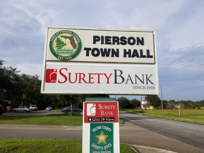 Pierson town hall