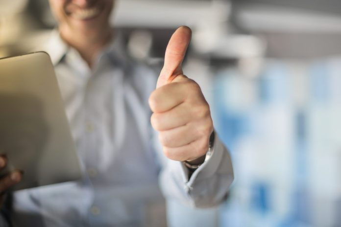 <p>Man giving a thumbs up</p><p>olly - stock.adobe.com</p>
