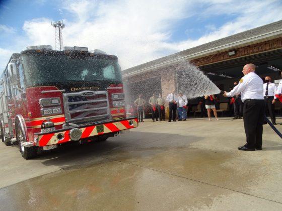 <p><p>Orange City Fire Chief Ronnie Long.</p></p><p></p>