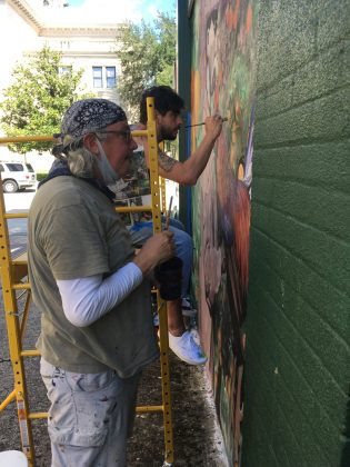<p><p>Day 4 of painting</p></p><p>BEACON PHOTO/BARB SHEPHERD</p>