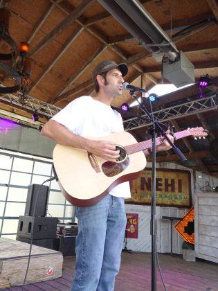 "<p><p>Songwriter <a href=""https://www.reverbnation.com/dandrnach"" target=""_blank"">Dan Drnach</a> on Café DaVinci's main stage.</p></p><p></p>"