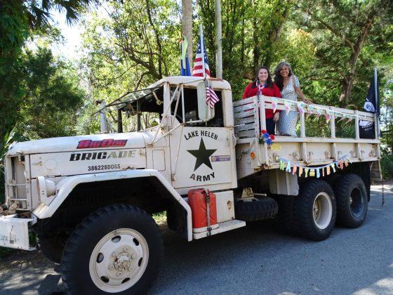<p><p>City Commissioner Kelly Frasca and Lake Helen Mayor Daisy Raisler</p></p><p></p>