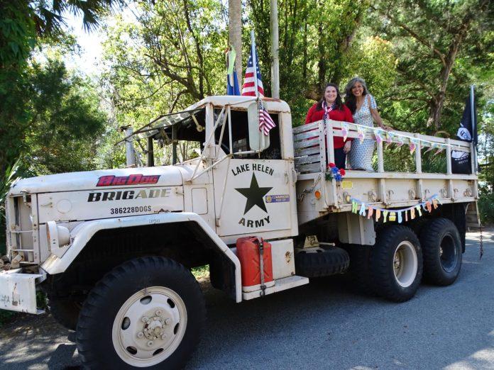 <p><p>City Commissioner Kelly Frasca and Lake Helen Mayor Daisy Raisler</p><p></p>