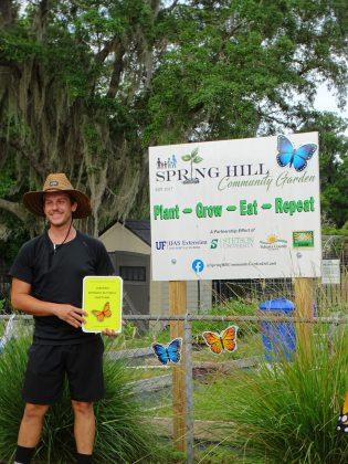 <p><p>Lance Harding, Master Gardener for the Spring Hill Community Garden</p></p><p></p>