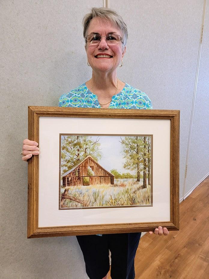 Judy Rowlett is Artist of the Month for September
