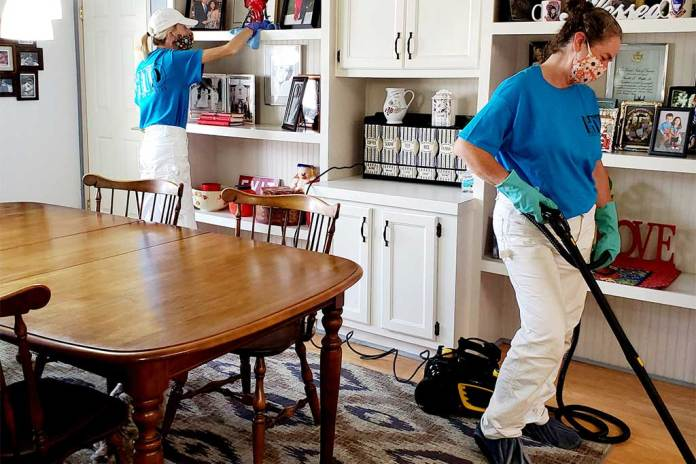 Fall in love with your home again when you call HTD Cleaning Services