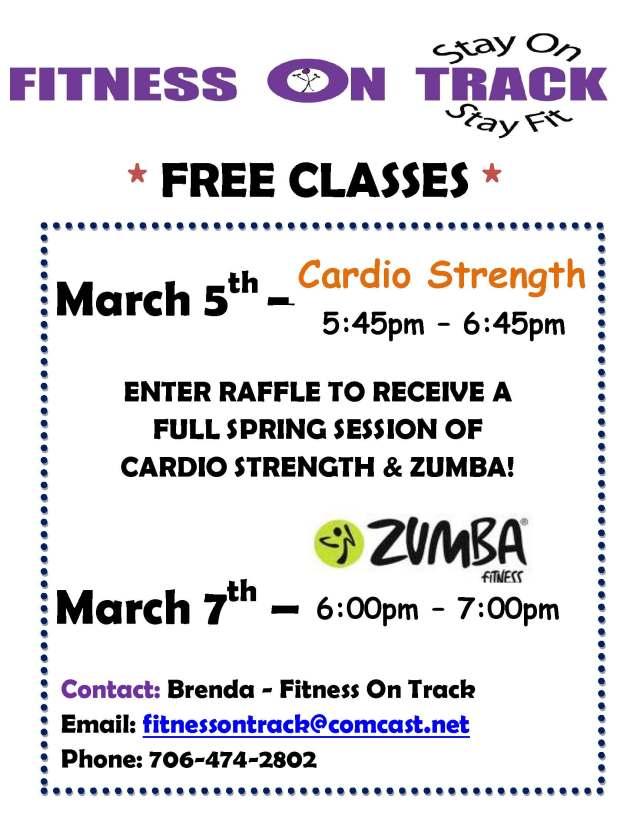 Promo Class for April 2013 Program
