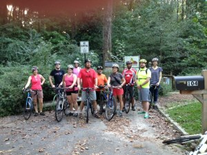 Third Friday Bike Riders in September